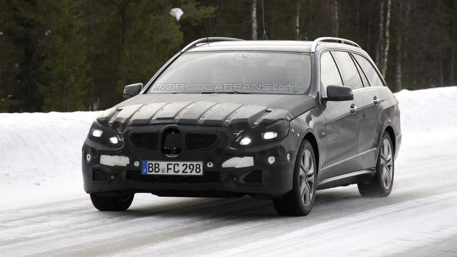 Mercedes E-class getting early facelift - first spy photos