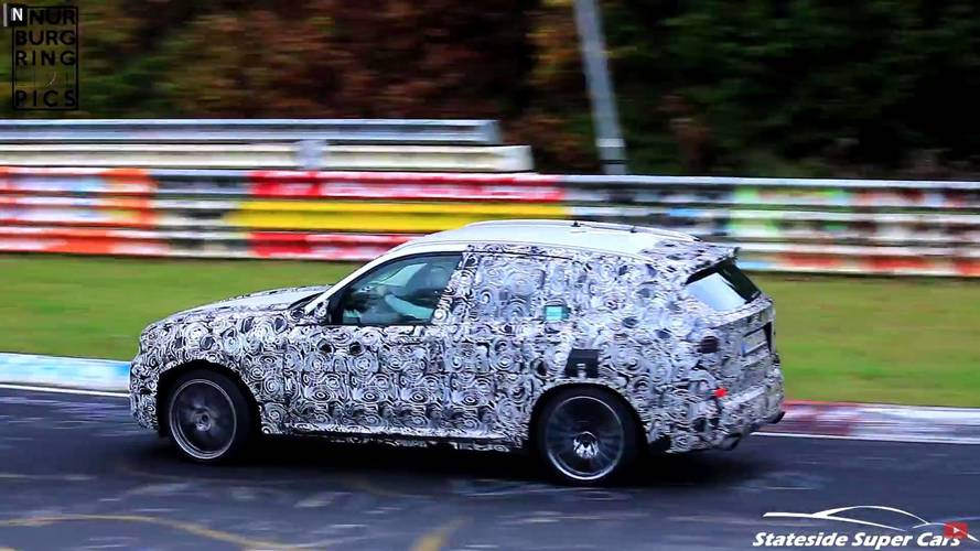 2019 BMW X3 M'i Nürburgring'de coşarken izleyin