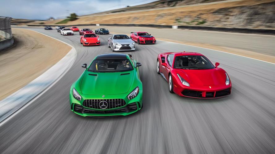 Disfruta con la mejor carrera de aceleración del mundo, en vídeo