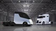 Tesla Semi-Truck Rendering