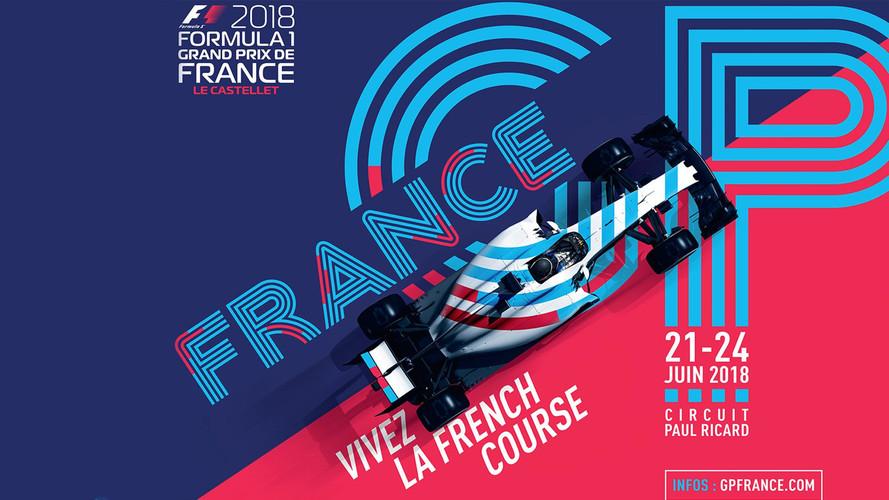Formule 1 - Le Grand Prix de France dévoile son affiche