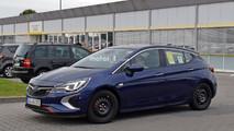 2018 Vauxhall Astra GSi spy photo