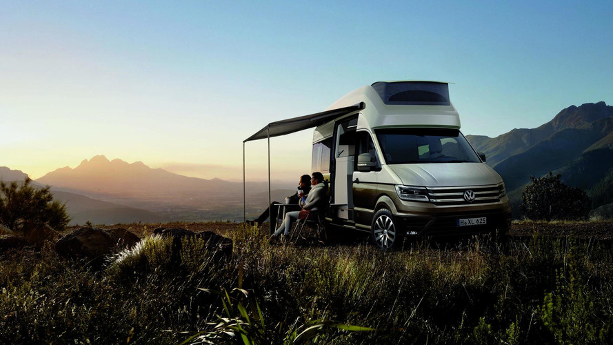 Volkswagen Supersizes California Camper With XXL Concept