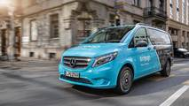 Mercedes-Benz Vito Drone teslimatı