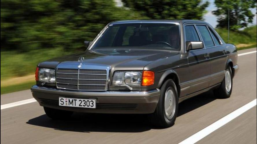 Mercedes Classe S, l'ammiraglia nella storia