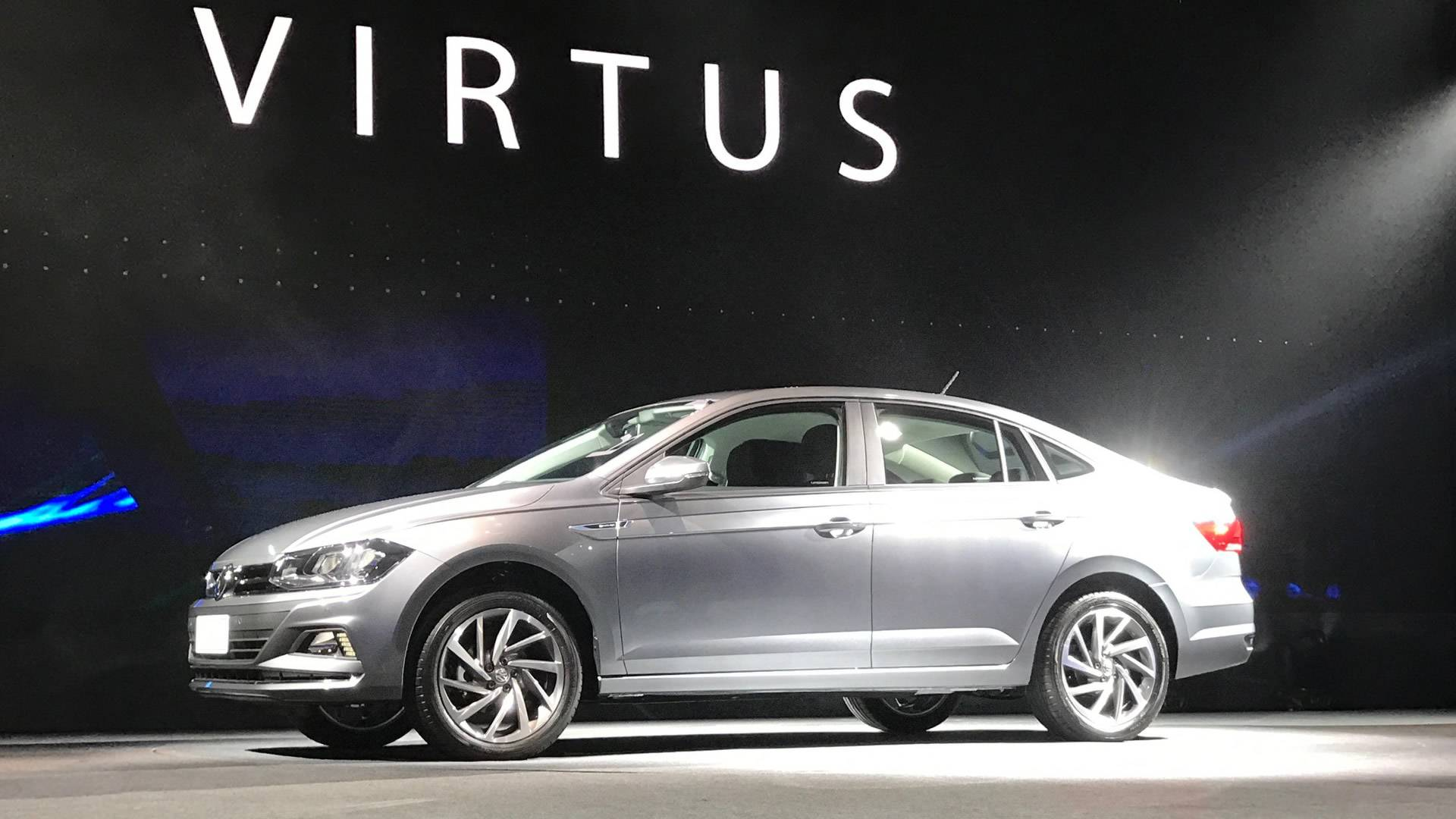 Vwvortex Com New Volkswagen Polo Based Virtus Sedan