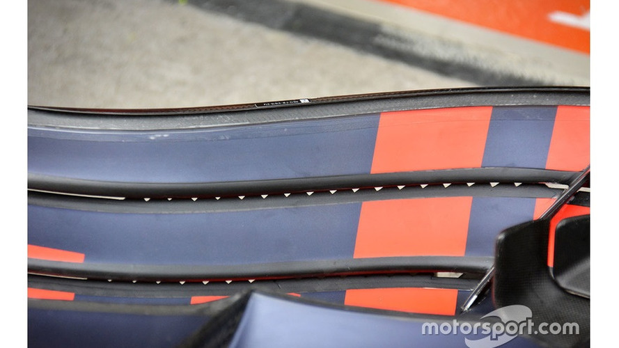 Red Bull Racing RB12 front wing detail