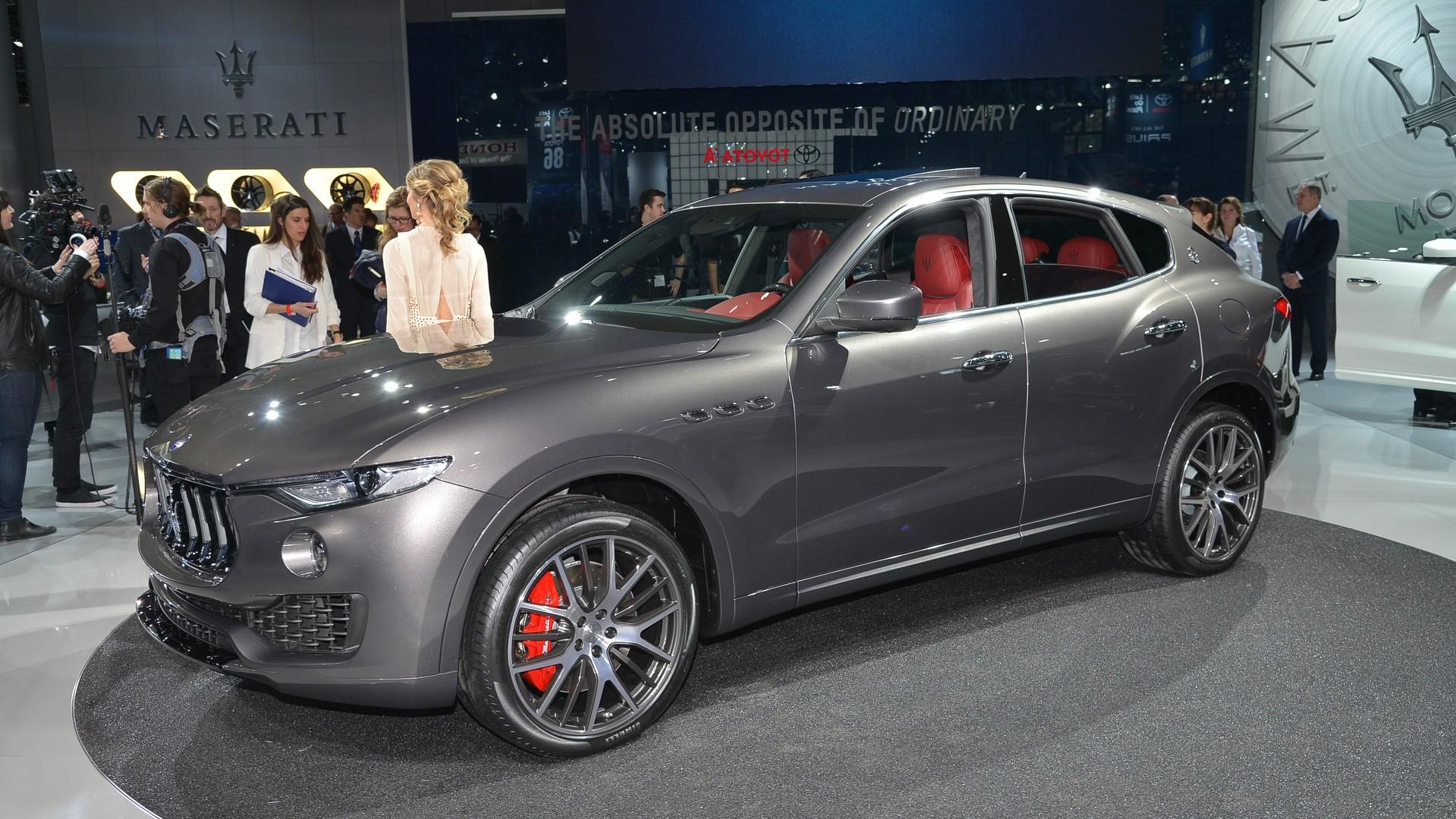 Maserati Levante Makes U S Debut In Nyc