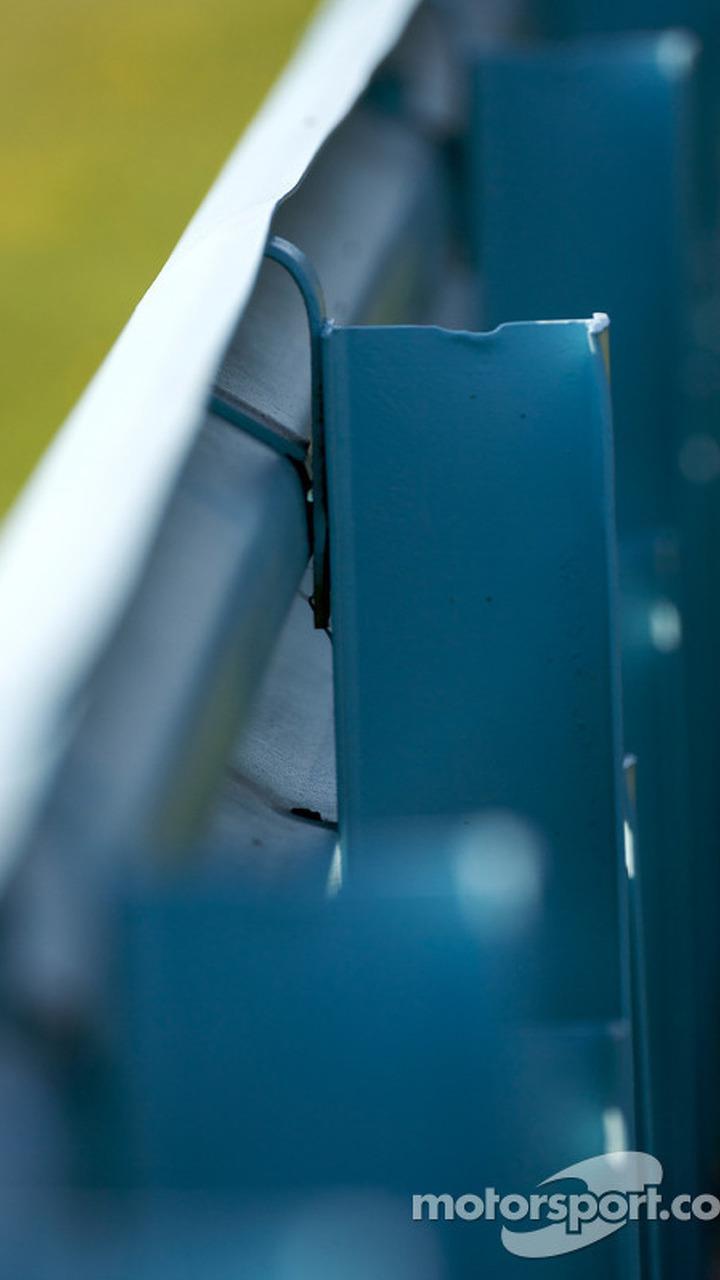 Watkins Glen guardrail detail