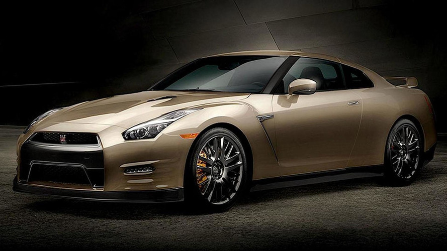 2016 Nissan GT-R unveiled with new 45th Anniversary Gold Edition