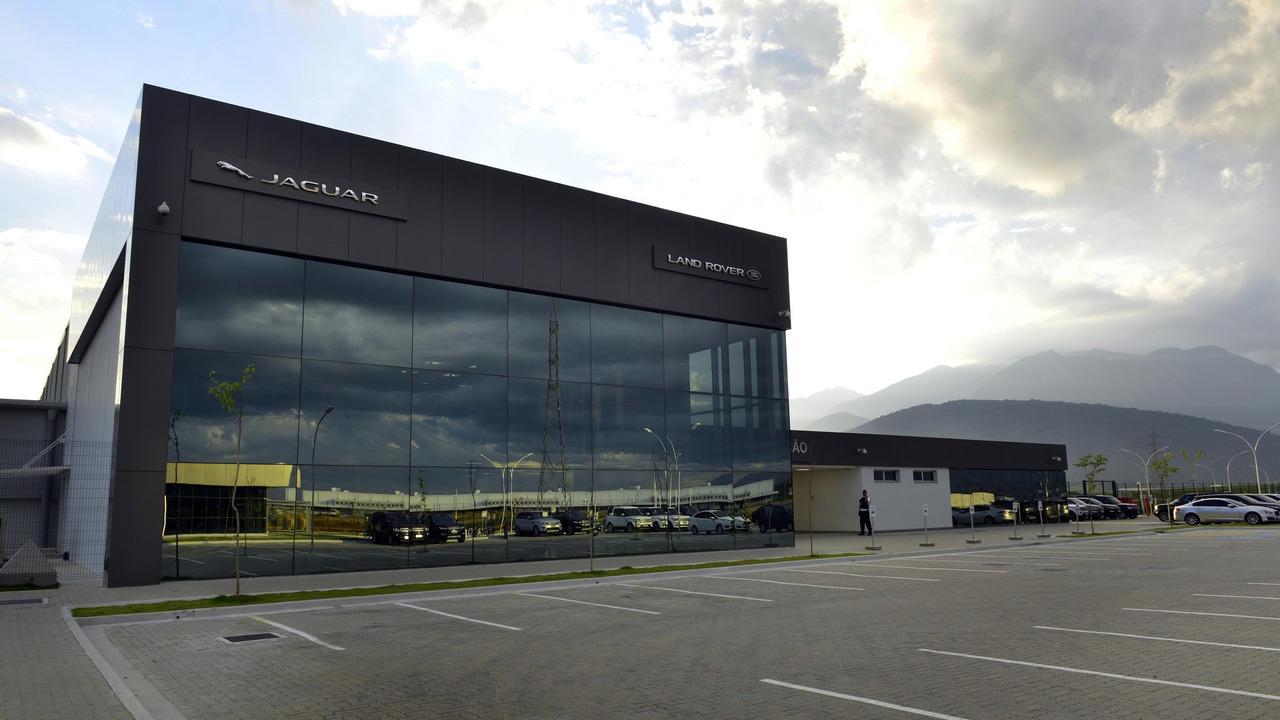 Jaguar Land Rover opens factory in Brazil