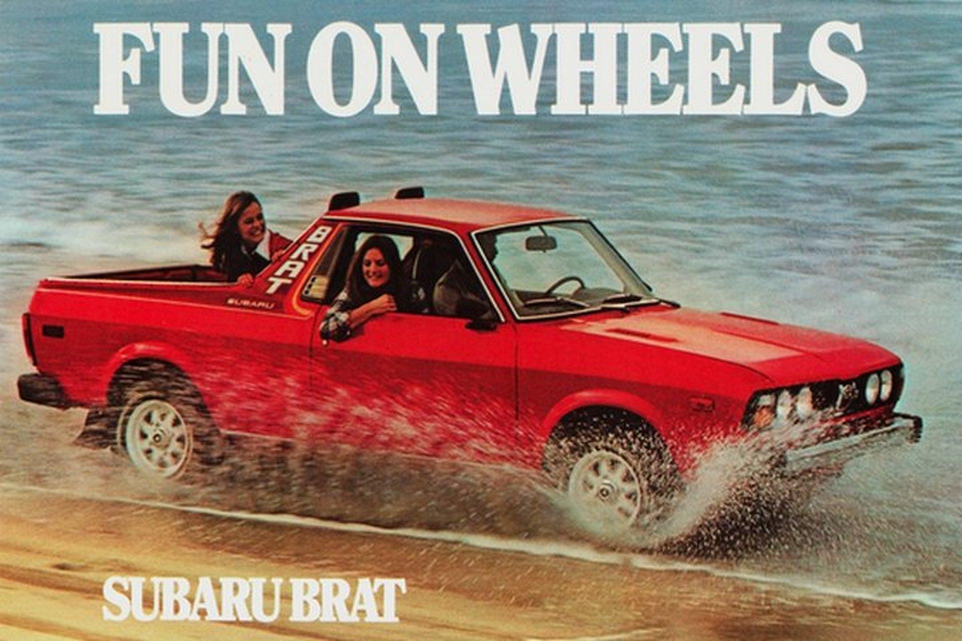 Fun on Wheels The Subaru BRAT is Too Fun to Exist Today