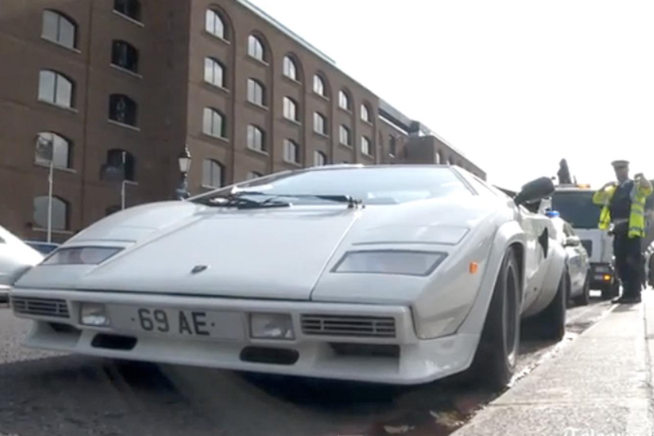 Rare Lamborghini Abandoned By Londonu0027s Tower Bridge