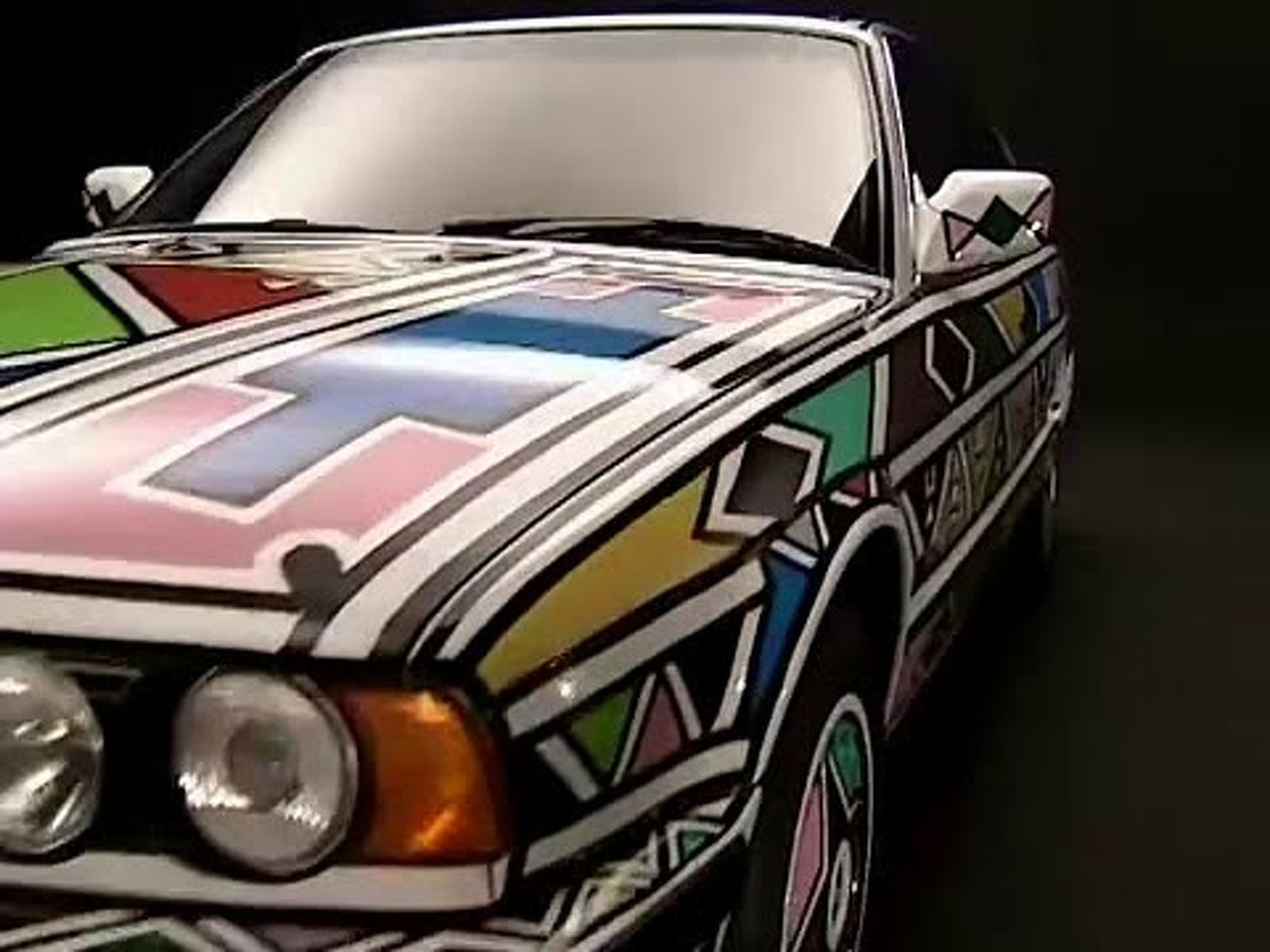 BMW 525i Art Car von Esther Mahlangu, 1991