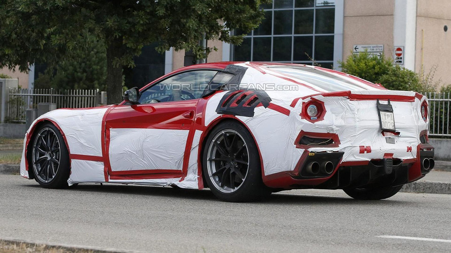 Ferrari F12 Speciale / GTO spied up close ahead of imminent reveal