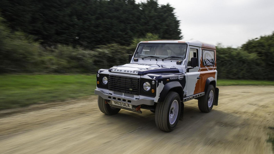 Land Rover announces one-make Defender Challenge rally series