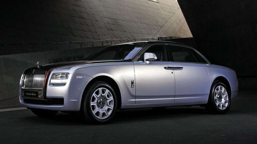 Rolls-Royce Canton Glory Ghost revealed at Auto Guangzhou
