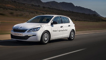 2014 Peugeot 308 with 1.2 PureTech three-cylinder engine