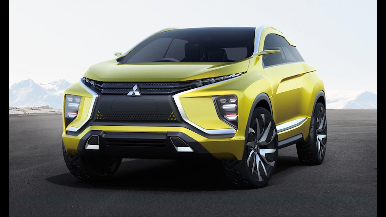 Mitsubishi divulga primeira imagem de conceito de minivan crossover