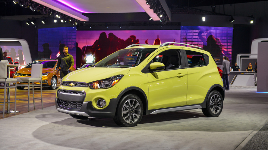 Chevy Spark Activ is the smallest crossover in L.A.