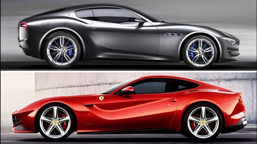 Marchionne: Maserati deve prendere il posto di Ferrari