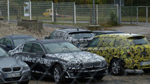 2011 BMW 5 Series F10 spy photo