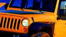 Jeep Wrangler J7 design sketch - 15.02.2010