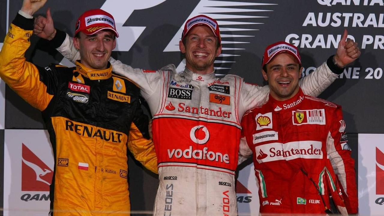 Podium GP Australii 2010