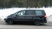 Ford Galaxy Development Mule Spied Winter Testing 14.12.2009
