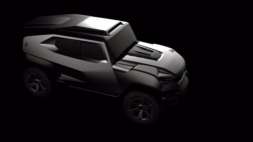 Rezvani Teases Hardcore, Military-Inspired SUV