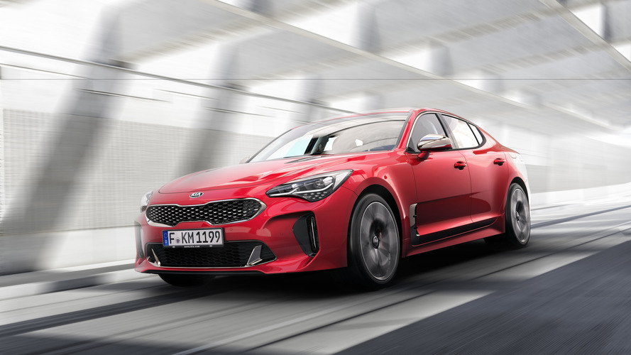 Kia goes aggressive entering the GT game with the Stinger