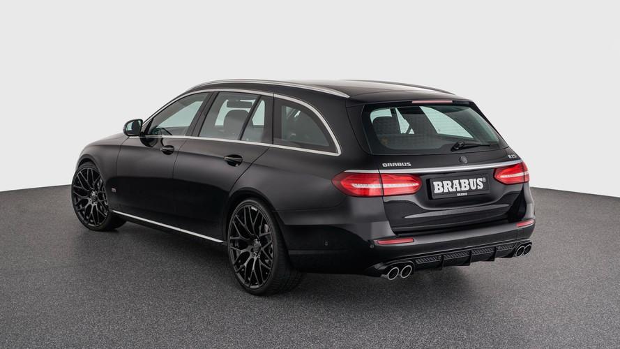 Un look plus agressif pour la Mercedes Classe E par Brabus