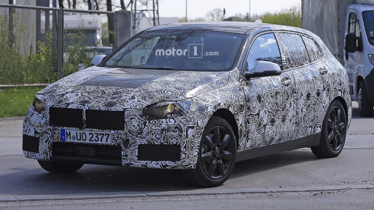 2019 bmw 1 series fwd spied for the first time. Black Bedroom Furniture Sets. Home Design Ideas