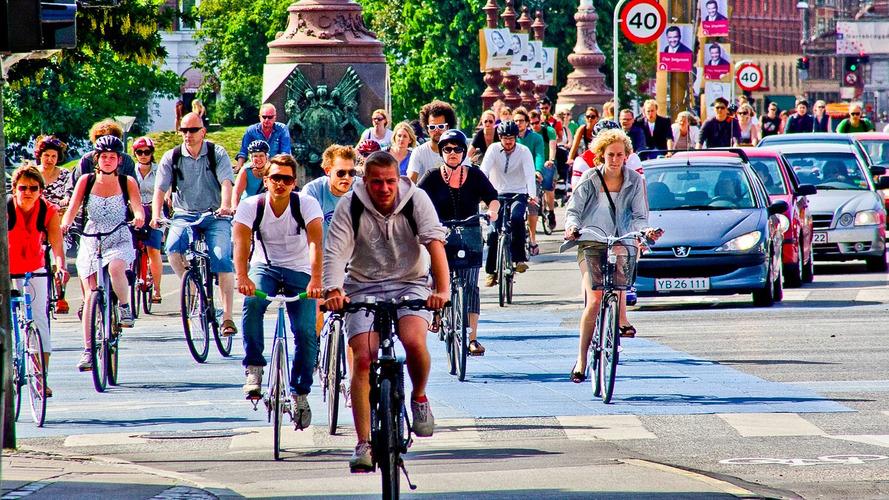 À Copenhague, la bicyclette a supplanté l'automobile !