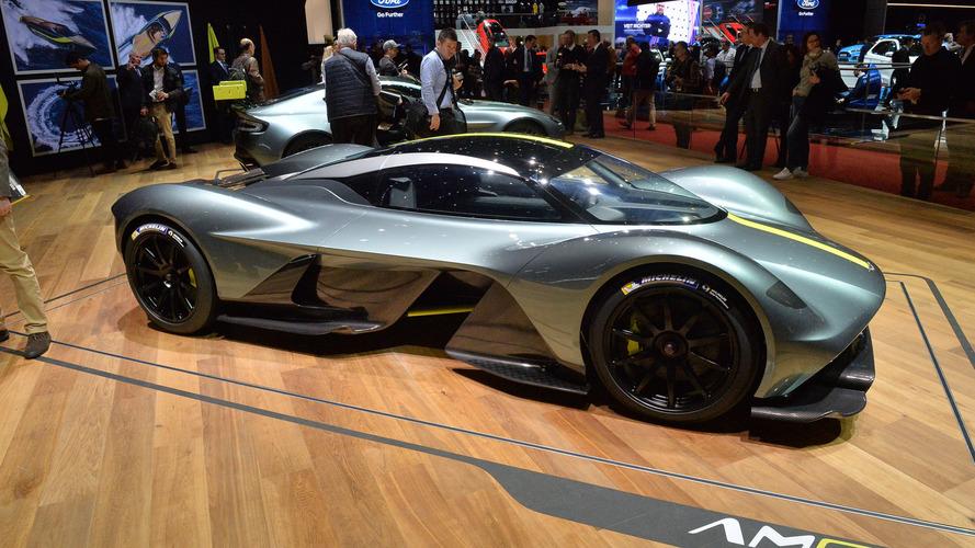 L'Aston Martin Valkyrie passerait la barre des 1110 ch