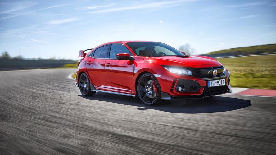 Honda Civic Type R 2017, prueba en circuito