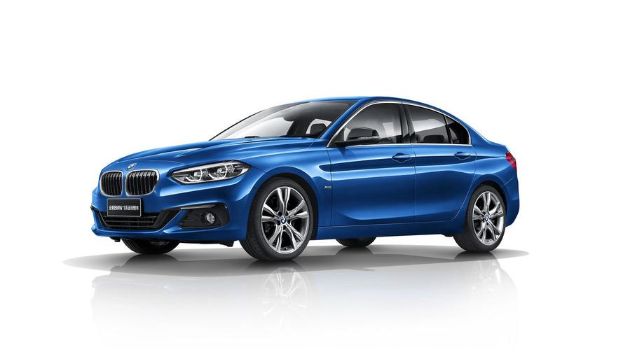 BMW 1 Series Sedan European Plans Axed