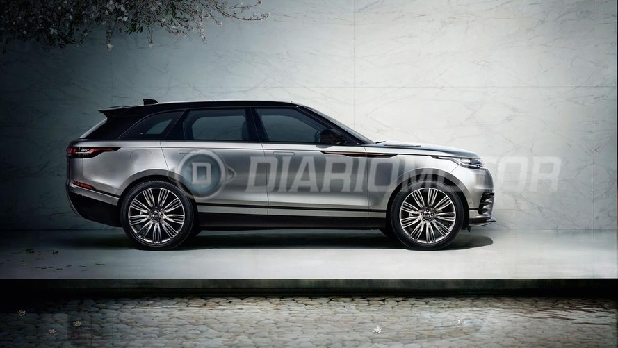 Land Rover Range Rover Velar Leaked Photos