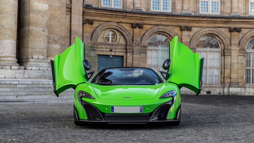 McLaren 675LT and 650S: Paris