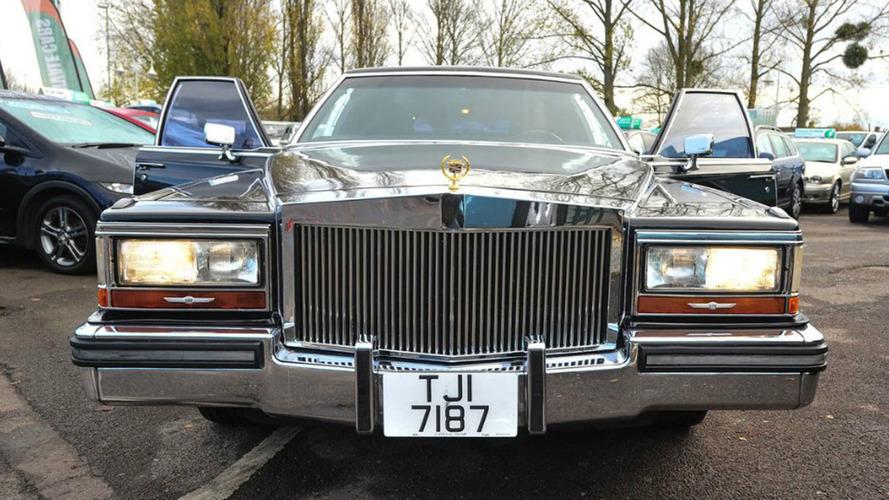 Limousine Cadillac de Donald Trump à vendre