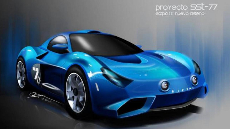Mexican group announces the SST-77, envisioned as a modern day Alpine A-110