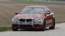 2014 BMW M5 spy photo 23.4.2013