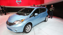 2014 Nissan Versa Note live in Detroit 15.01.2013