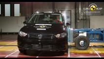 Crash Test Volkswagen Golf Sportsvan