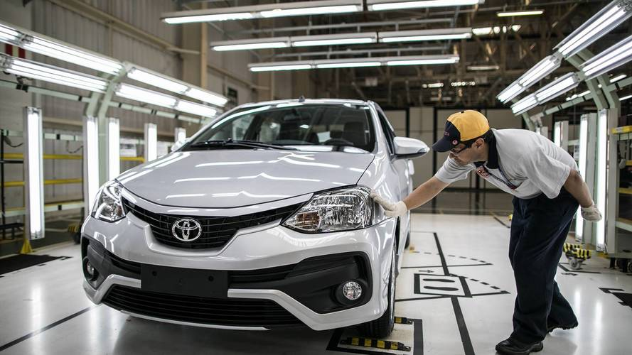 Resultado de imagem para Toyota anuncia terceiro turno em Sorocaba e Porto Feliz para produção do Yaris