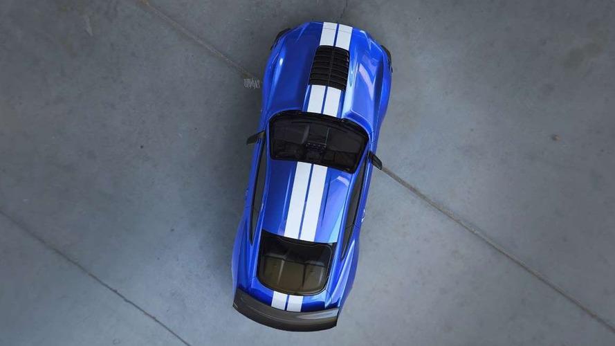 2019 Ford Mustang Shelby GT500 Teaser'larına yakından bakın