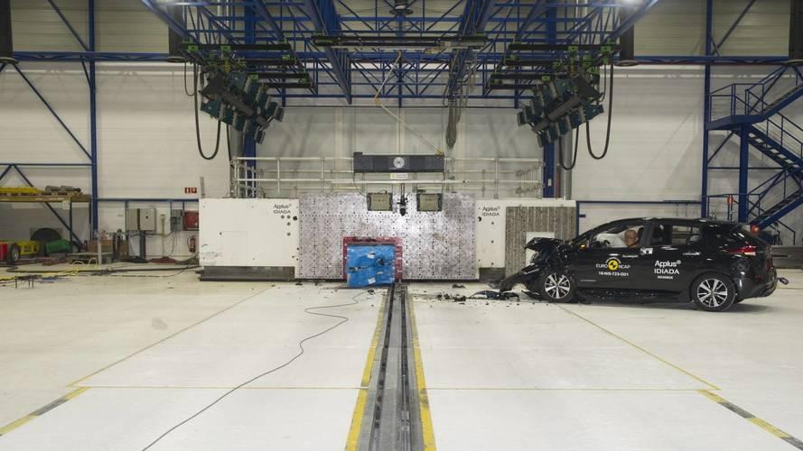 Nissan LEAF - Euro NCAP törészteszt