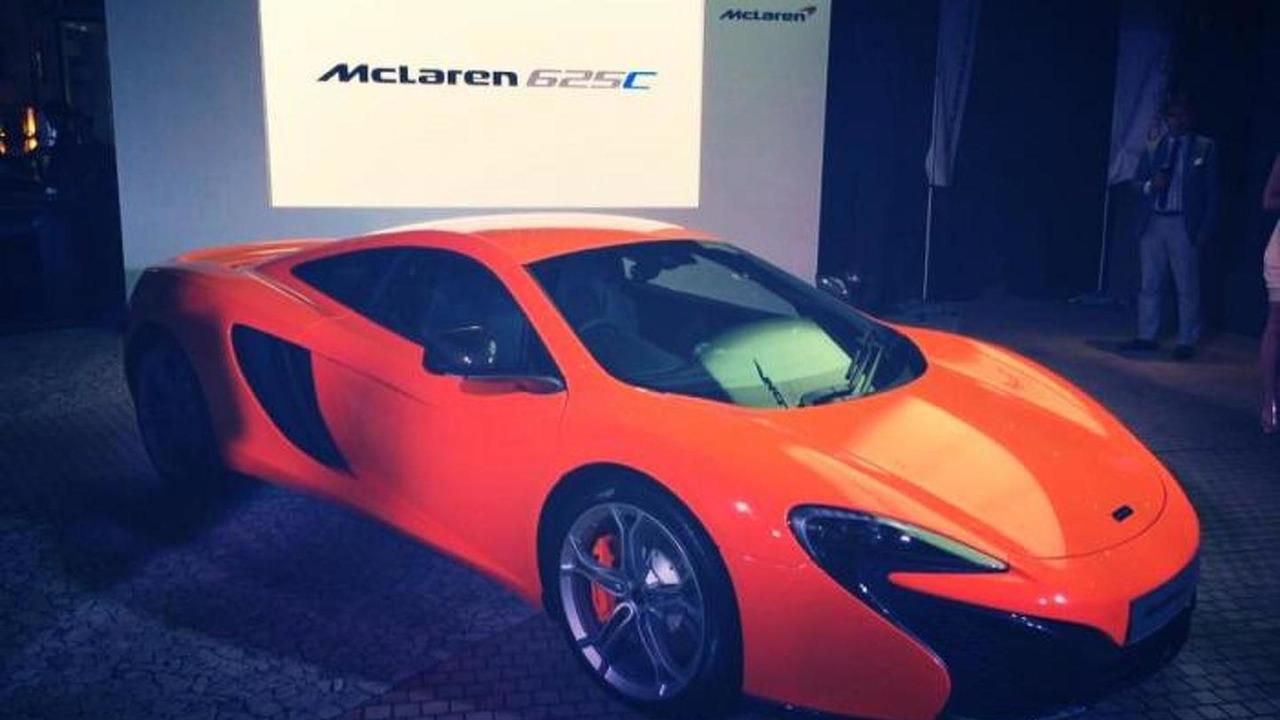 McLaren 625C Coupe