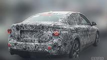 BMW 1-Series Sedan spy photo