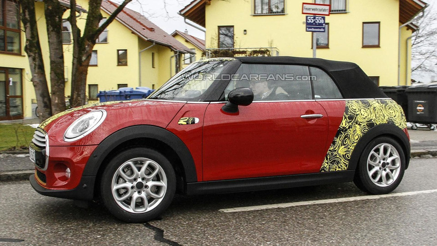MINI Cooper Cabrio and Clubman spied testing in Munich